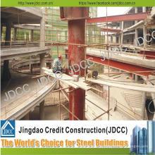 Centro comercial de varios pisos Edificio de estructura de acero ligero