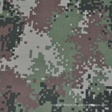 Tissu camouflage bleu ignifuge de haute qualité
