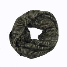 Unisex Winter Diamond Printing Heavy Knitted Loop Snood (SK179)