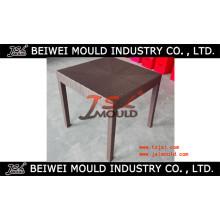 Customized Injectgion Plastic Rattan Table Mould