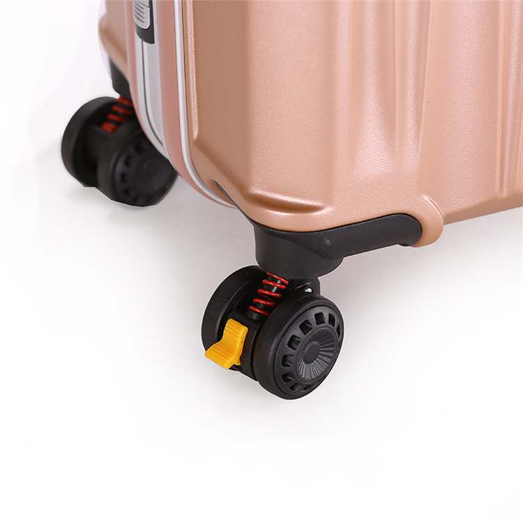 Fashion ABS Trolley luggage Suitcase With Universal Wheels5