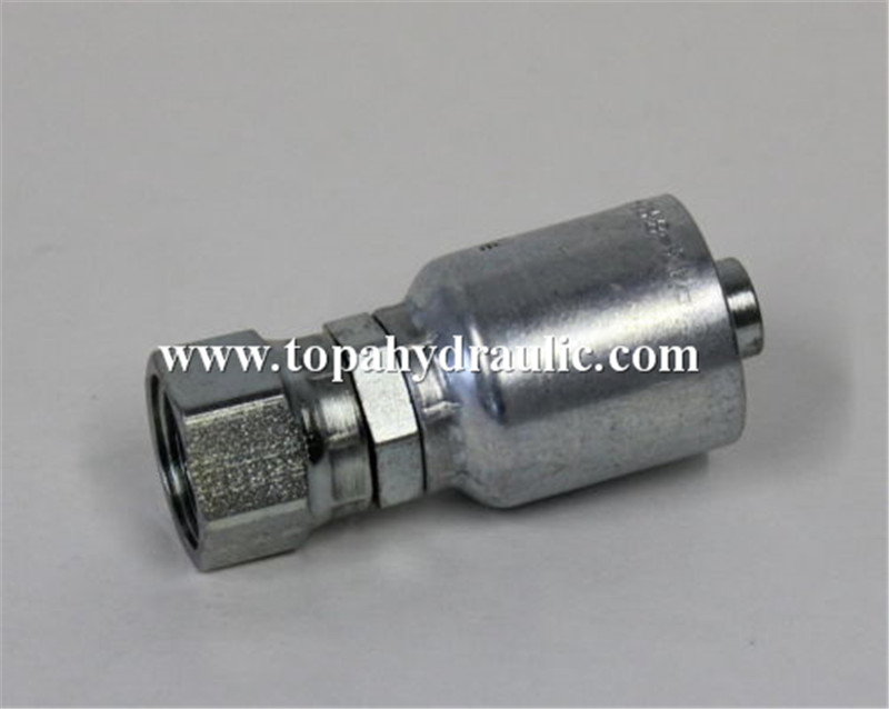 different types premade hydraulic fitting identification