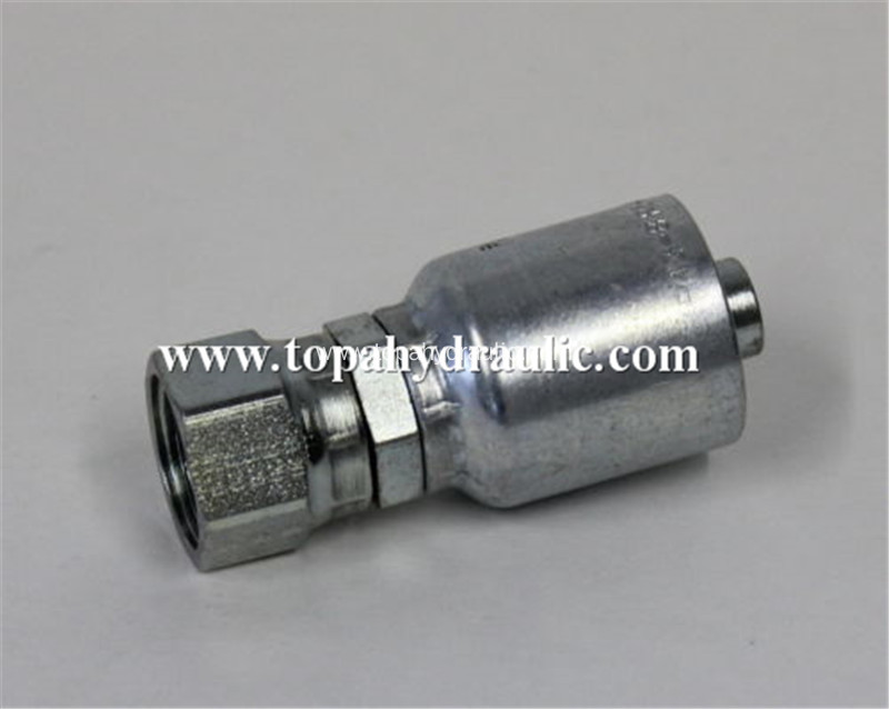 One piece Gas 16711 stainless steel hydraulic fitting