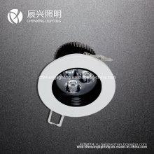 3W светодиодный потолочный светильник Sopt Light