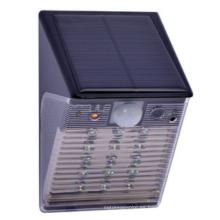 Precio de fábrica PIR sensor de movimiento CCTV DVR solar LED luz de seguridad