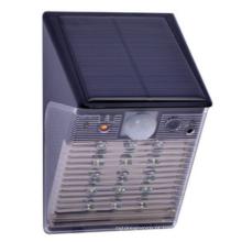 Preço de fábrica PIR sensor de movimento CCTV DVR solar LED luz de segurança