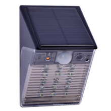 Заводская цена pir датчик движения видеонаблюдения DVR солнечная светодиодные безопасности свет