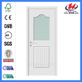 Jhk-G13 1/2 Lite 1 Panel Plank Granite Glass Glass Swing Door