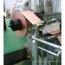 Machine de refendage de feuille de cuivre de haute précision