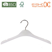 White Plastic Hanger (pH017) for Kids