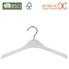 Белая пластиковая вешалка (pH017) для детей