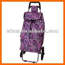 2 wheels Easy carrying shoping bag