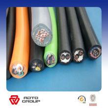 Câble en caoutchouc flexible de veste d'isolation de conducteur en cuivre de YC / YCW