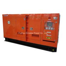 Generador diesel a prueba de sonido 90kVA 72kw con motor refrigerado por agua Deutz