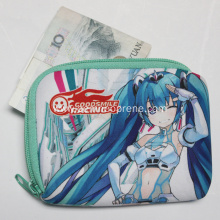 Professional for Cosmetic Power Case Neoprene Cartoon Pattern Money Bags With Zipper export to Japan Importers