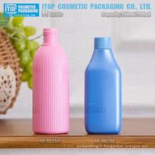 magnifique tour de 200 à 250ml / rectangle couleur personnalisable cosmétiques ménage 24/410 24/415 bouteille vide en plastique hdpe
