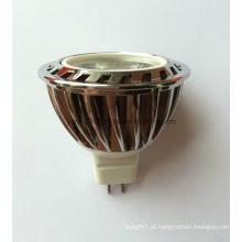 Alta qualidade 12V DC COB LED MR16 Down luz com lente