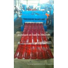 Aluminium-Dachdeckmaschine