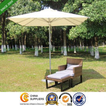 6 Feet Aluminium Patio Umbrella for Outdoor Garden (PU-2020A)