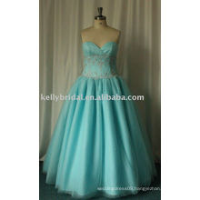 2015 newest sweetheart girls party dresses Wholesale popular see through plus size sleeveless emerald sexy beaded evening dress
