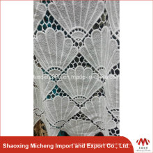 100% Polyester Guipure Lace for cloth 3010