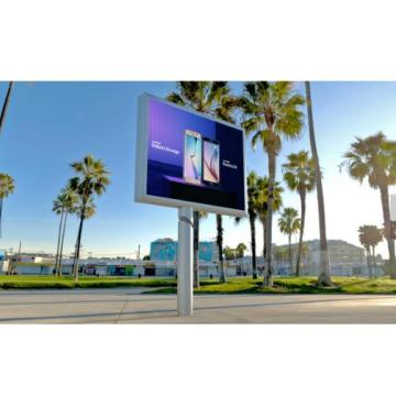 Outdoor Double Side Commercial Advertising P8 Led Screen