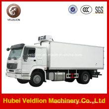 Sinotruk HOWO 15 Tonnen Kleiner Kühlkoffer LKW Verkauf nach Nigeria