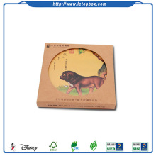Kare karton Coaster Set 6