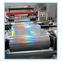 transparent hologram foil