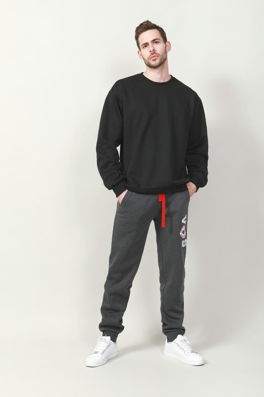 Men's casual pullover fleece