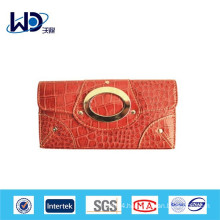 Factory price fashion leather women purse