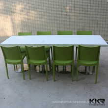 various sizes dining tables for 8/6/4/2 people solid surface