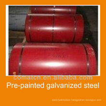 prepainted galvanized steel for construction buildngs