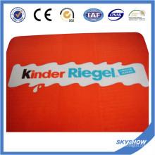 Logotipo personalizado que imprime la manta polar del paño grueso y suave (SSB0191)