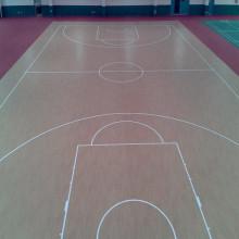 Rollen-Innen-PVC-Sport-Fußboden- / Basketball-Fußboden- / Matten-Fiba-Bescheinigung hölzerne Oberfläche