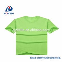 Serigrafia 100% algodão respirável personalizado impresso camisetas