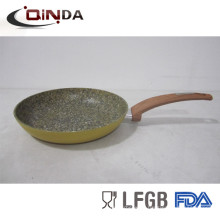 granite stone forged fry pan