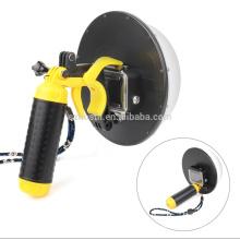 "Waterproof 6"" Dome Port Camera Diving Lens Cover w/ Pistol Trigger Grip for GoPro Hero 5 6 HERO5 HERO6 Black Camera"