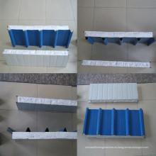 Máquina formadora de rollos usados eps sandwich panel