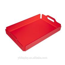 Qualité supérieure plateau acrylique rouge