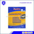 9 x 11 water abrasive sandpaper assorted wet or dry