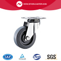 Swivel Plate TPR Stainless Steel Caster