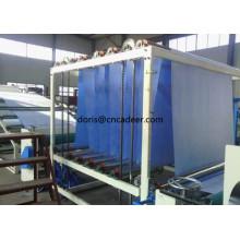 Geomembrana homogênea azul do PVC para piscinas