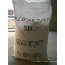 Química de limpieza de piscinas; Dicloroisocianurato de sodio (SDIC) 56% 60%