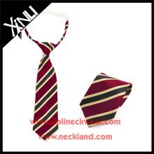 Сухой-чистой только полиэстер жаккарда сплетенные дешевле дети шеи галстук