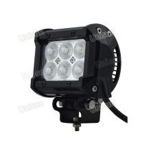 "Barra de luz LED Unisun 9-32V à prova d'água 4 ""18 watts CREE 3W"