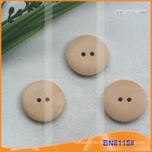 Botones de madera naturales para la prenda BN8115