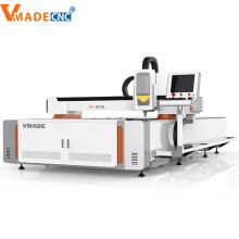 Máquina de corte por láser de acero inoxidable 1000W de acero al carbono