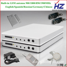 Magnetic doors and windows sensor PSTN GSM security alarm system used in the home