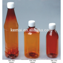 Plastic liquid bottle